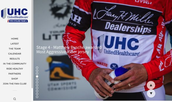 UHC Pro Cycling Web & Social Media